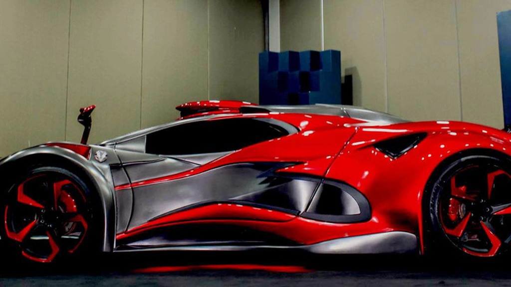 Inferno Exotic Car concept