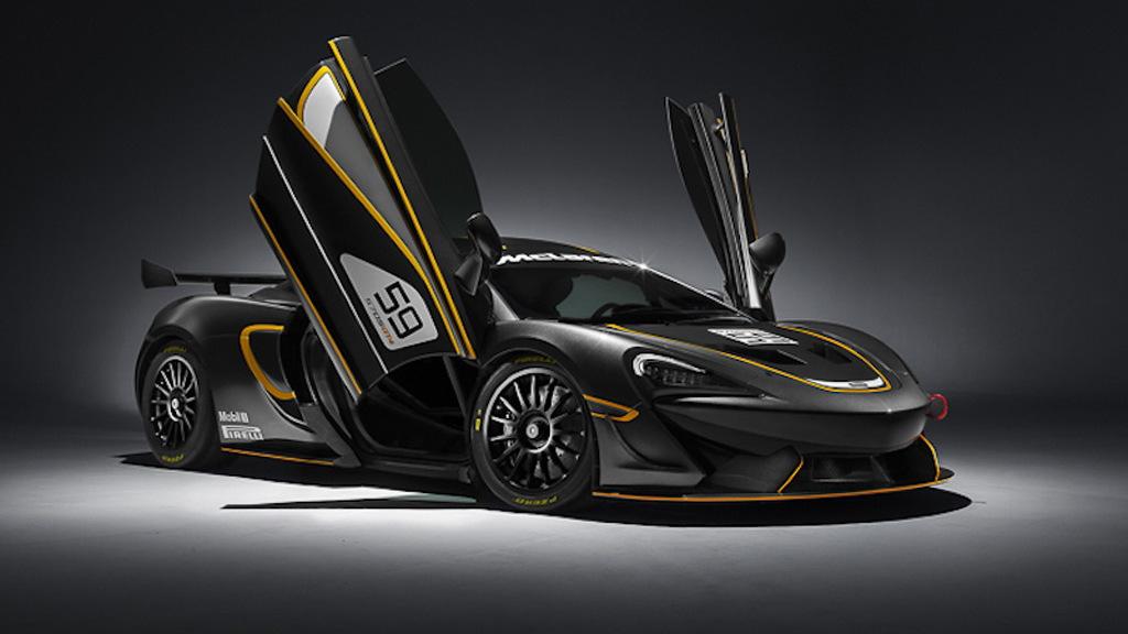 2017 McLaren 570S GT4 race car