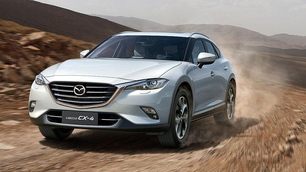 2016 Mazda CX-4 (Chinese spec)