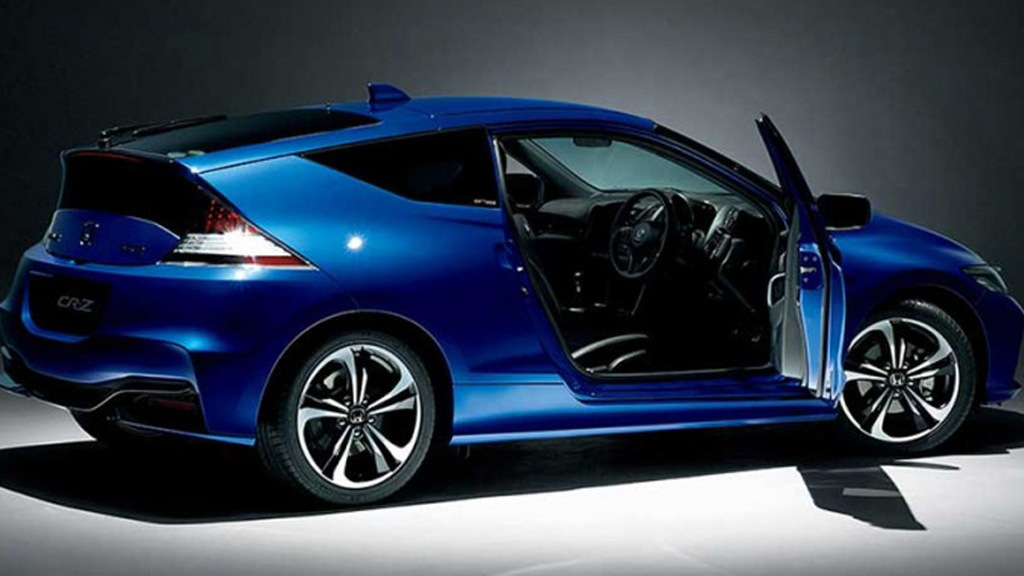 2016 Honda CR-Z Final Label (Japanese spec)