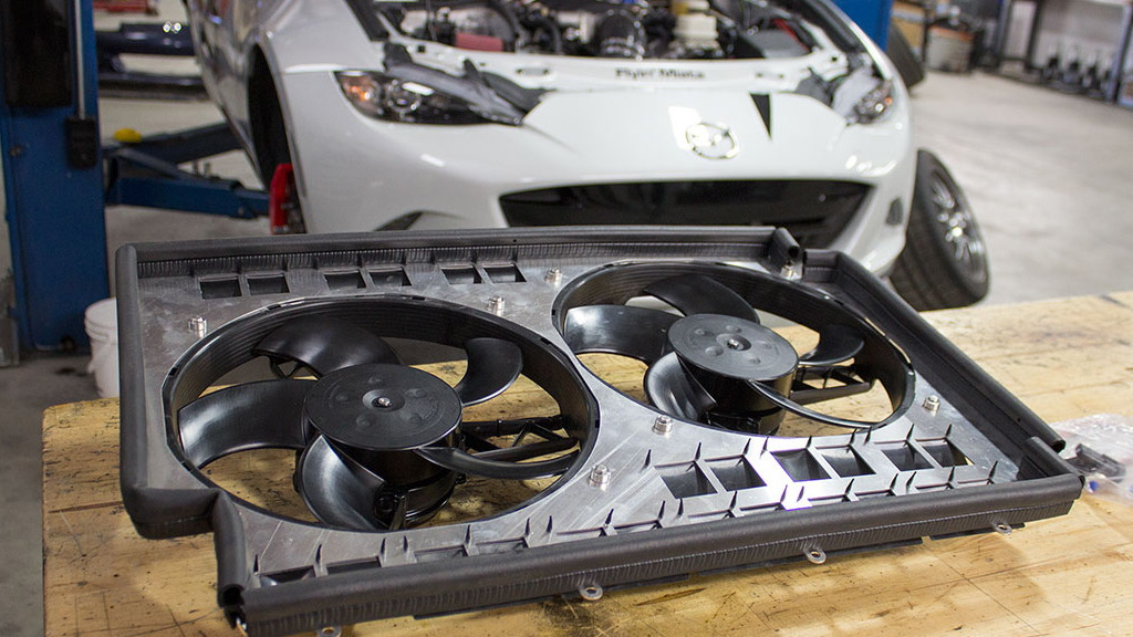 2016 Mazda MX-5 Miata V-8 conversion by Flyin' Miata