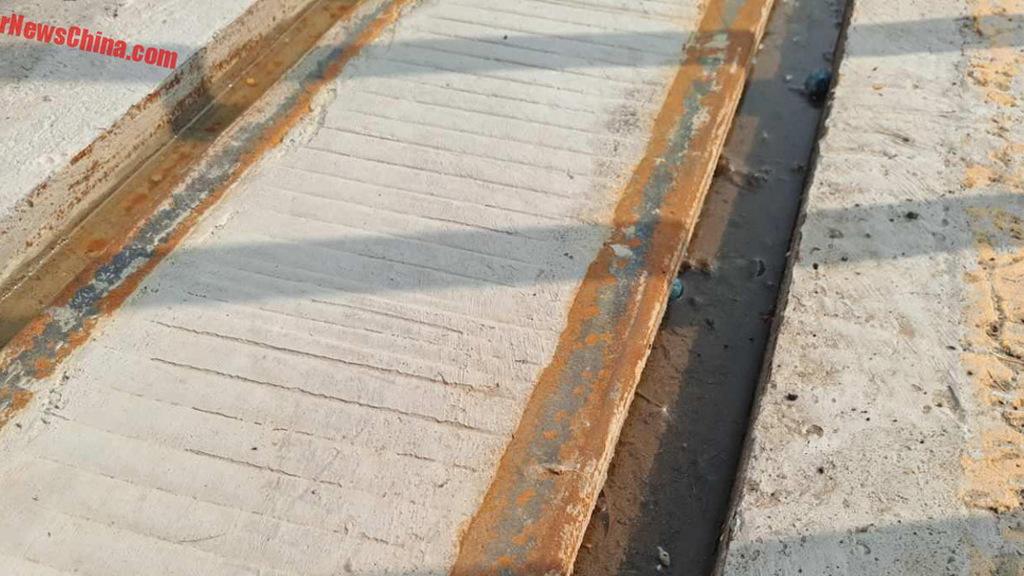 Transit Elevated Bus (TEB) tracks - Image via Car News China