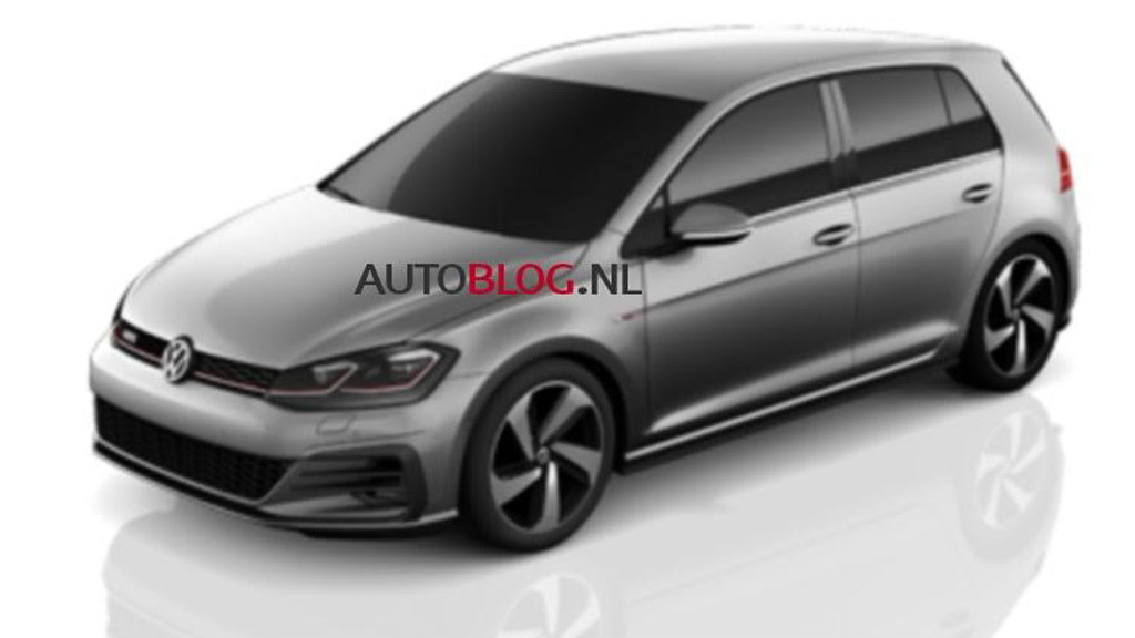 Alleged image of the 2018 Volkswagen GTI - Image via Autoblog.nl
