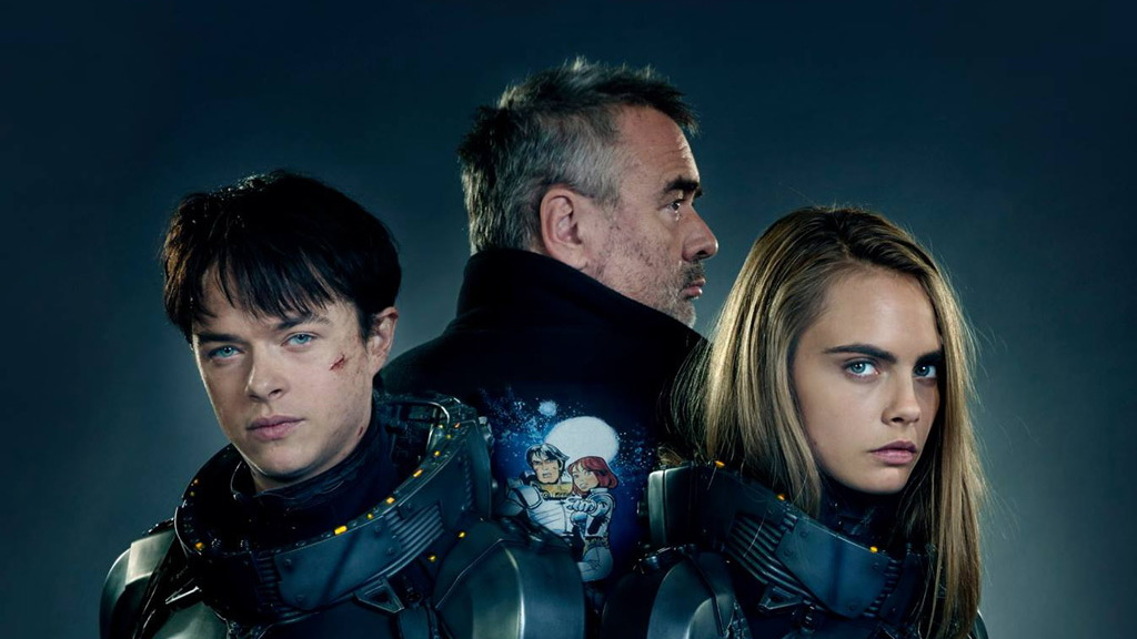 Crew from 'Valerian and the City of a Thousand Planets'