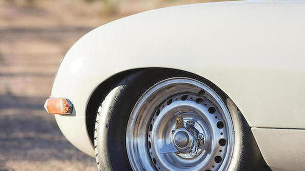 1963 Jaguar Lightweight E-Type raced by Bob Jane - Image via Bonhams