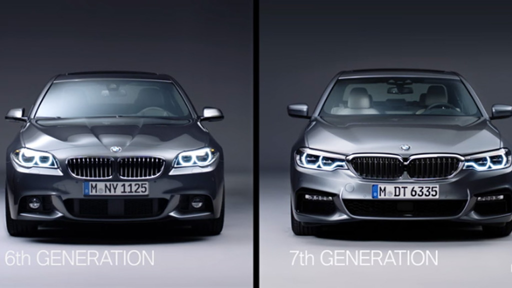 Video Outlines Differences Between New Bmw 5 Series And Its