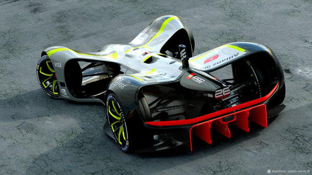 Roborace Robocar self-driving race car