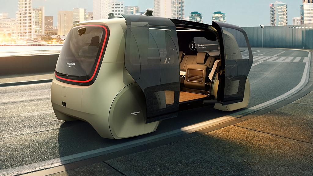 Volkswagen Group Sedric concept, 2017 Geneva auto show