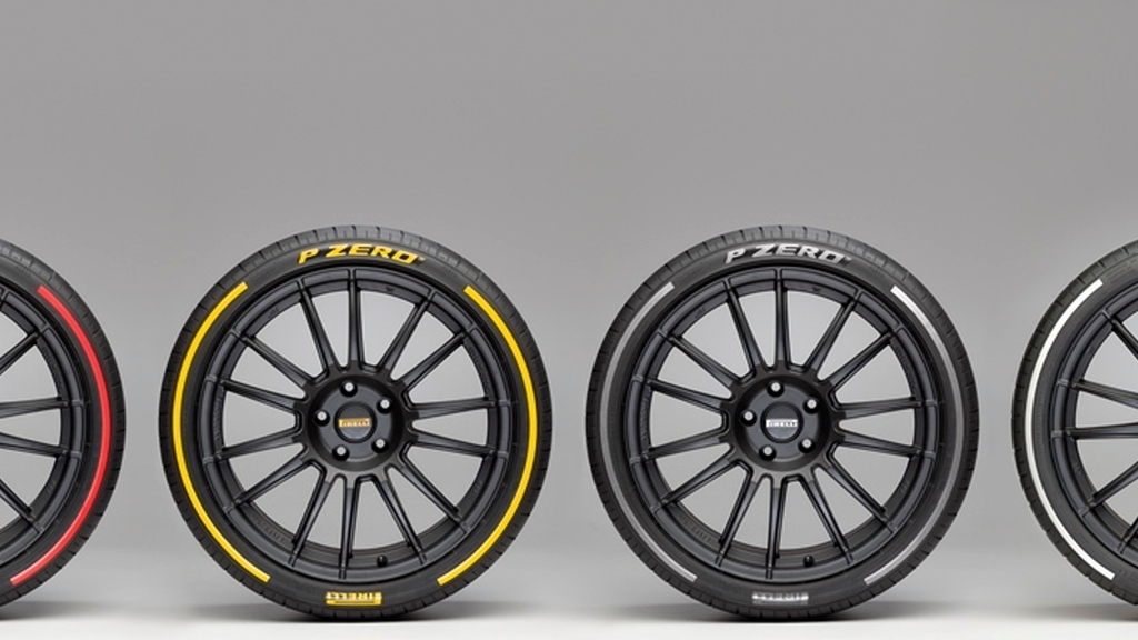 Pirelli P Zero colored edition