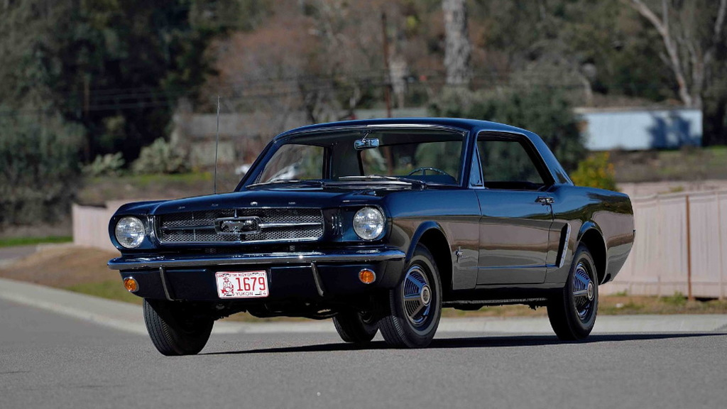 The first Mustang coupe Ford built heads to auction