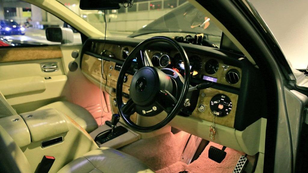 Rolls-Royce Phantom 2JZ engine swap