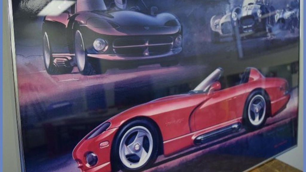 Dodge Viper memorabilia from Conner Avenue Assembly plant