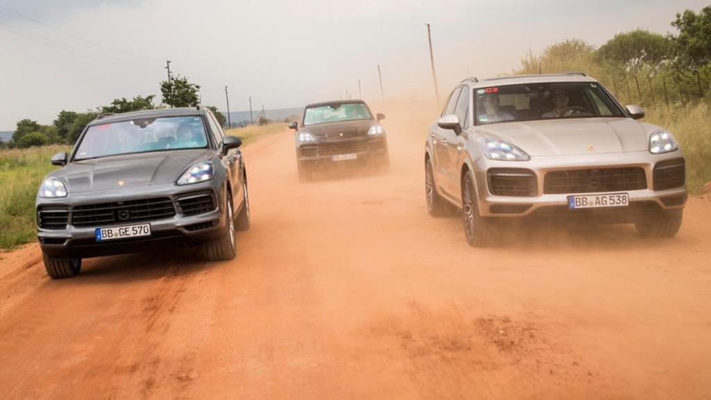 Teaser for 2019 Porsche Cayenne E Hybrid