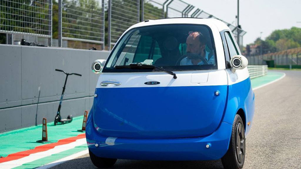 Microlino electric car