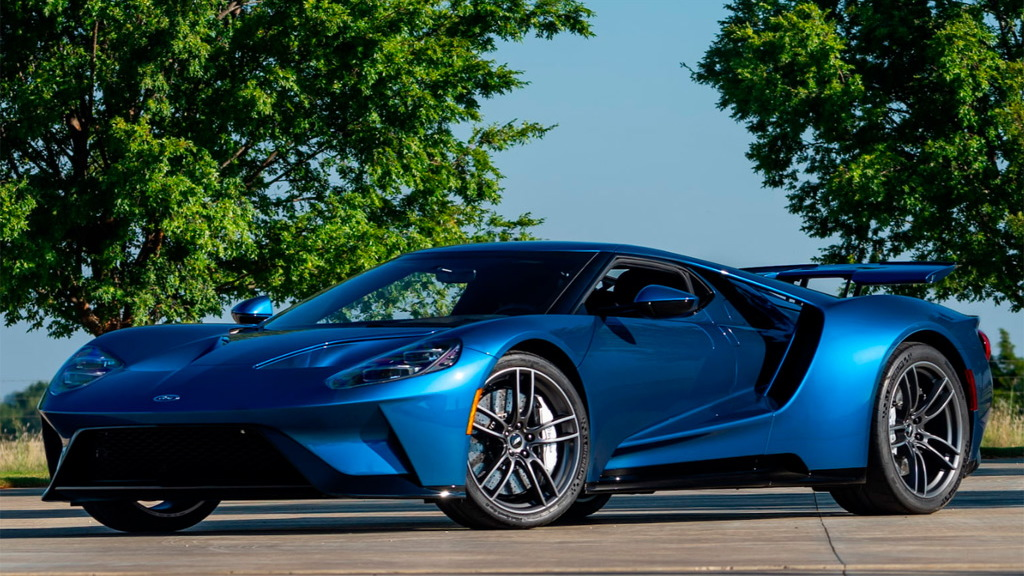 Ford And Ford Auction >> John Cena S 2017 Ford Gt Takes 6 Figure Hit On Latest Sale