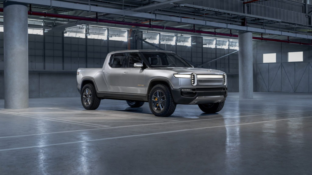 Rivian R1T electric pickup concept