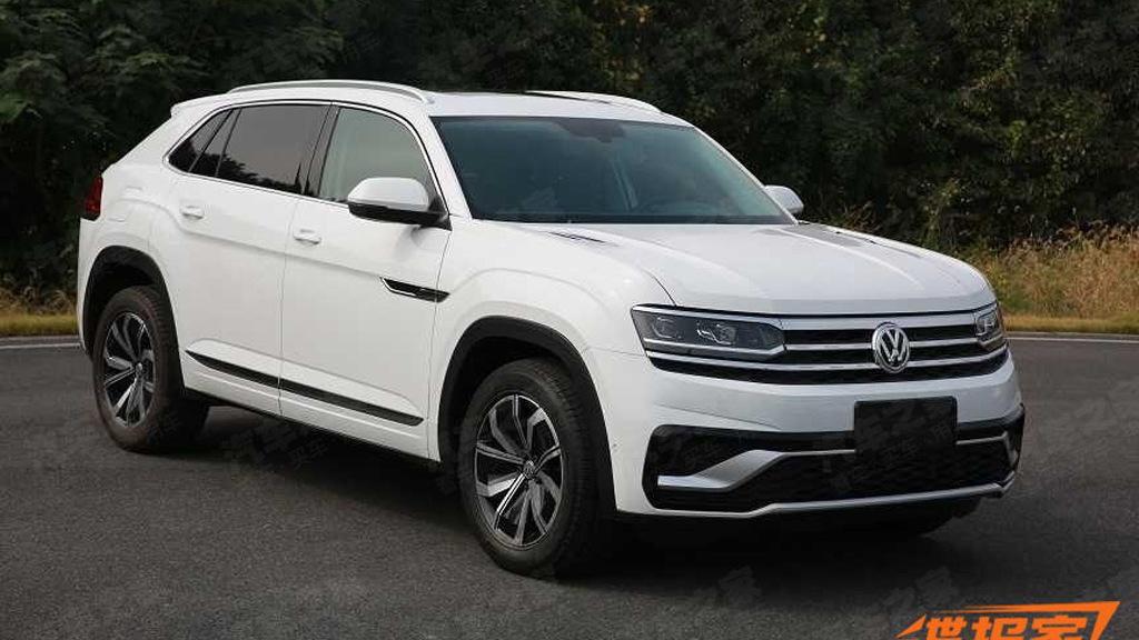 2020 Volkswagen Atlas Cross Sport leaked - Image via Autohome