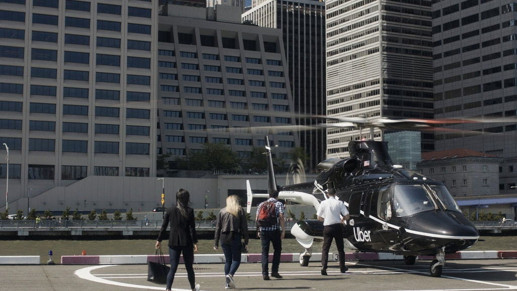 Uber Copter service in New York City
