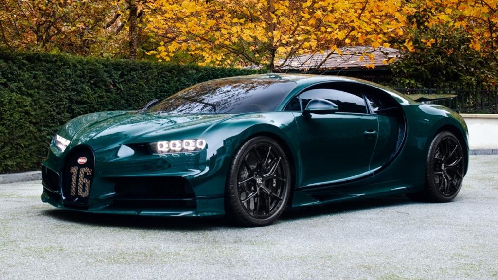 Bugatti Chiron Sport - Image via Silverstone Auctions