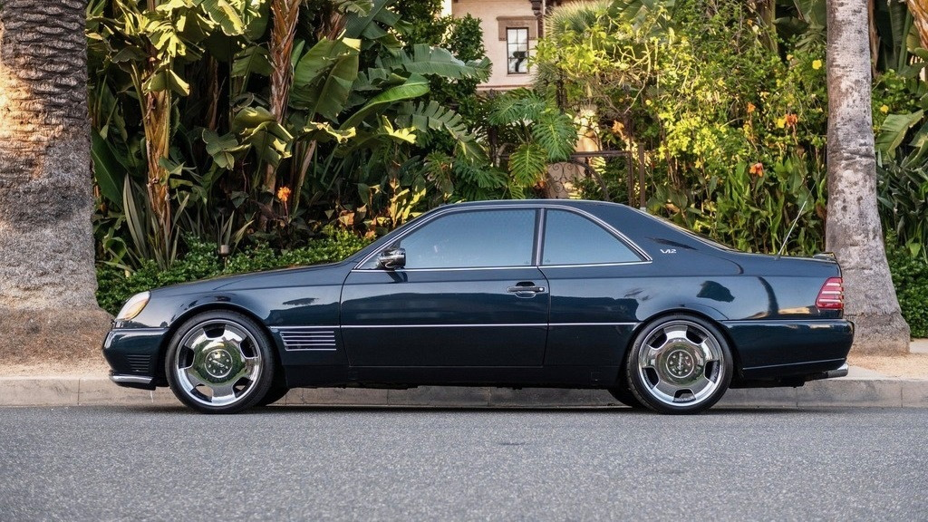 1996 Mercedes-Benz S600 coupe owned by Michael Jordan (photo by Beverly Hills Car Club)
