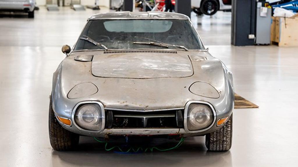 1967 Toyota 2000GT garage find  - Photo credit: Which Car