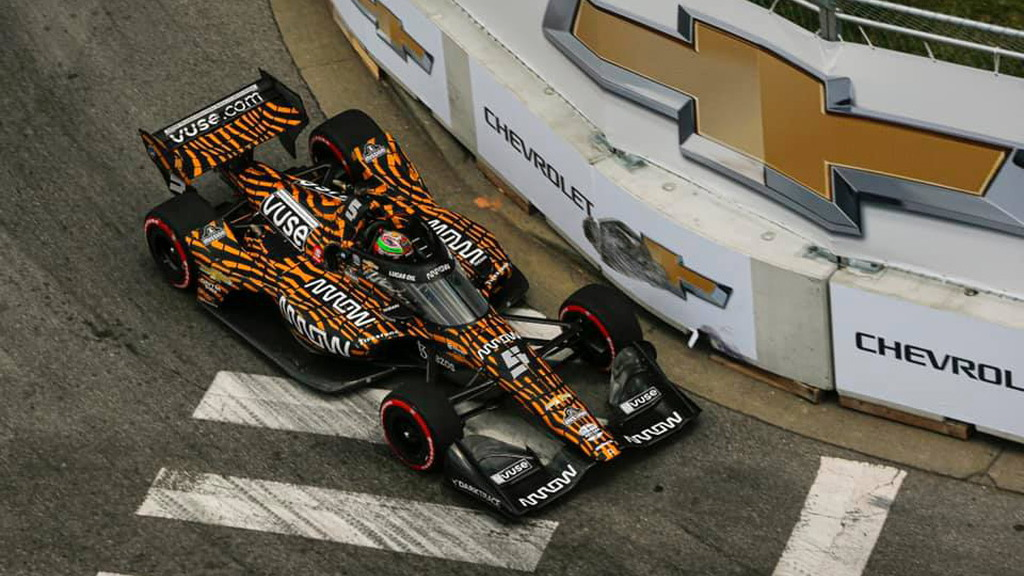 2021 Arrow McLaren SP IndyCar race car
