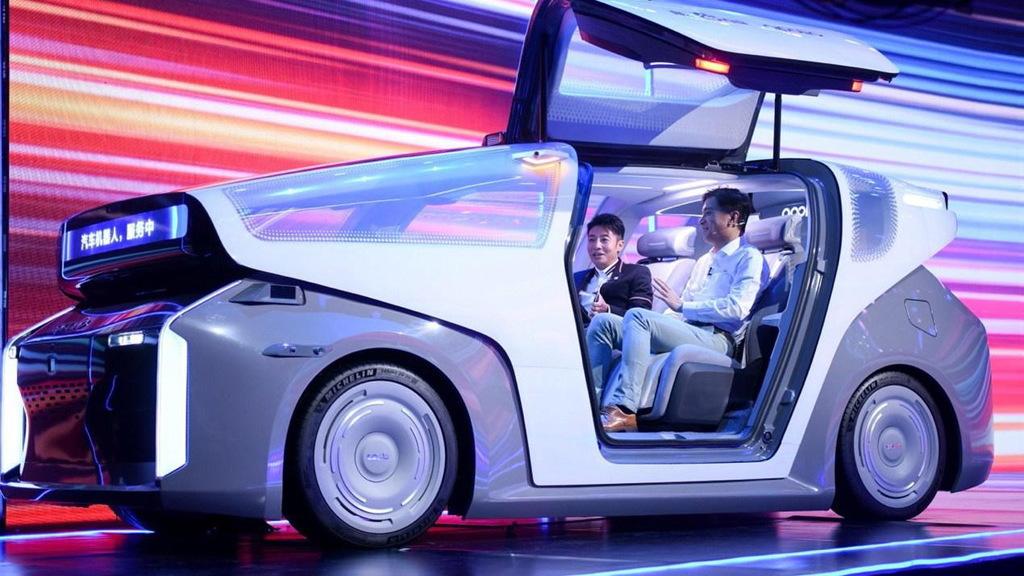 Baidu self-driving car concept
