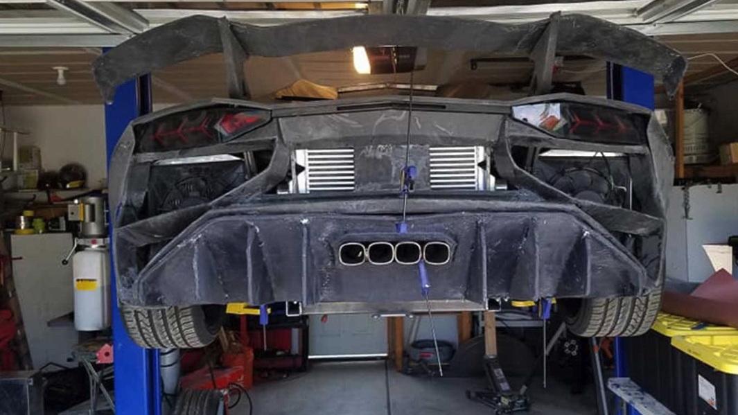 Lamborghini Aventador 3D printed