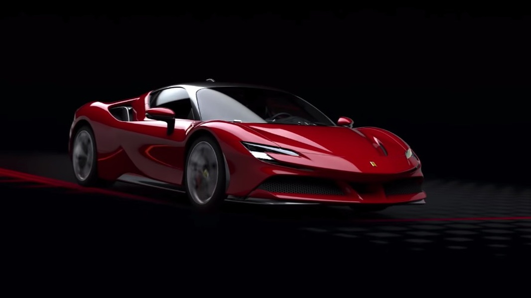Ferrari SF90 Stradale powertrain video