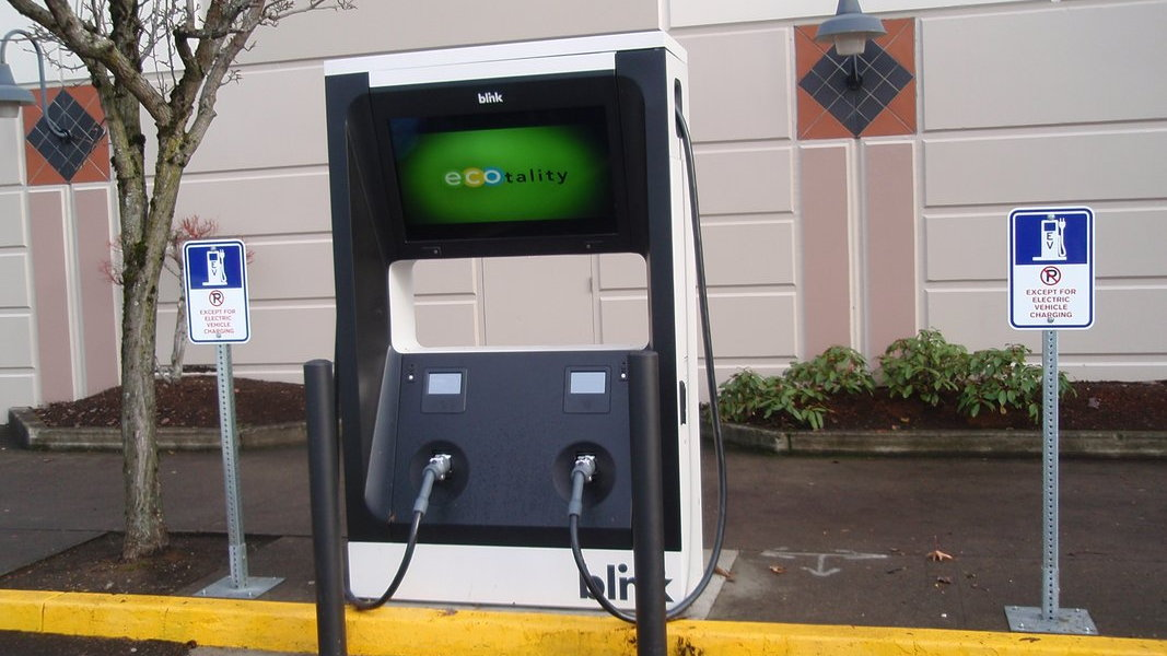 ECOtality DC fast charger  -  Portland, OR