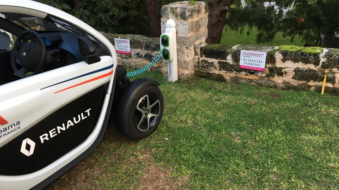 Renault Twizy rented in Bermuda, October 2017     [photo: David Noland]