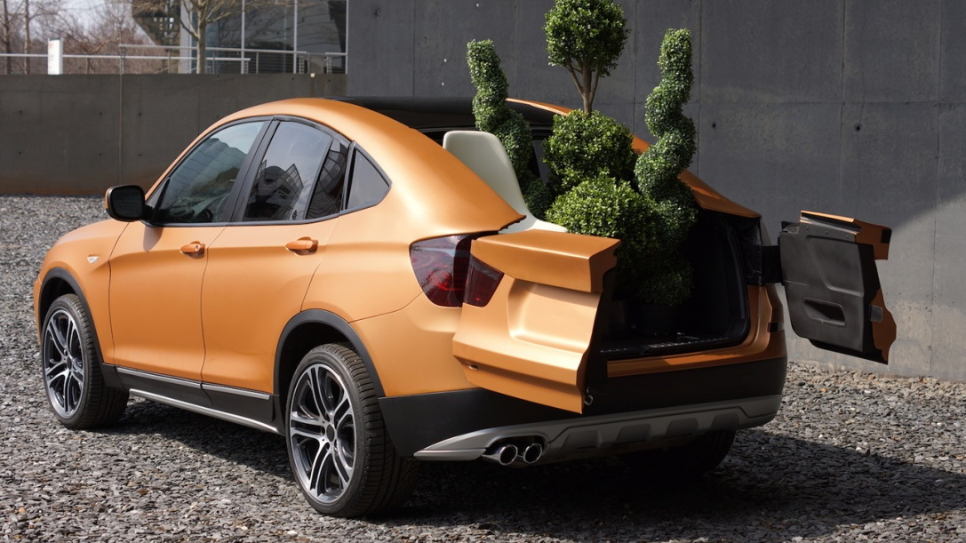 BMW Deep Orange 4 Concept with Clemson University