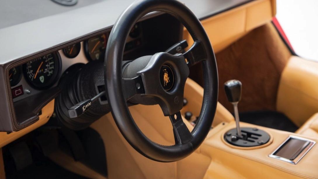 Mario Andretti's 1984 Lamborghini Countach