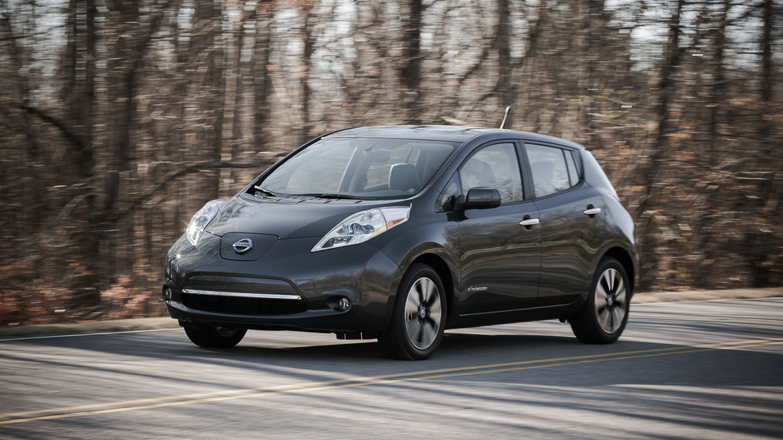 2013 Nissan Leaf: Longer Range, Faster Charging, Leather ... on
