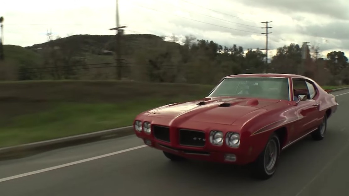 Jay Leno takes a drive in a 1970 Pontiac GTO Judge