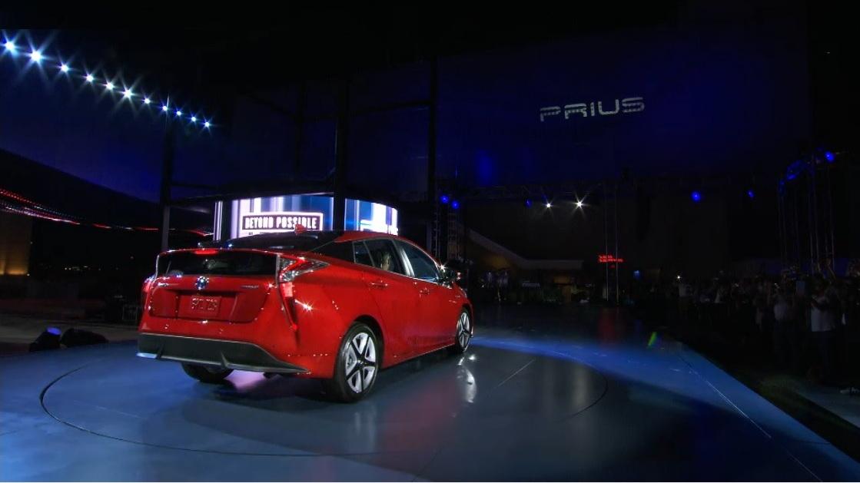 2016 Toyota Prius Unveiling