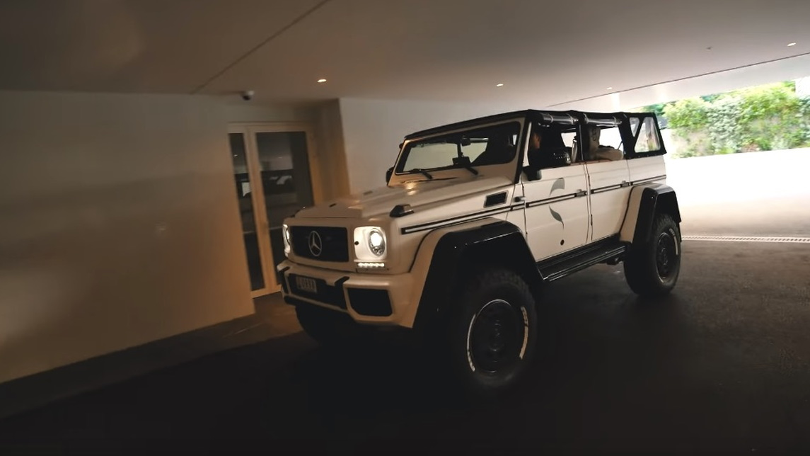 Jon Olsson's Mercedes-Benz G500 4x4 with safari top