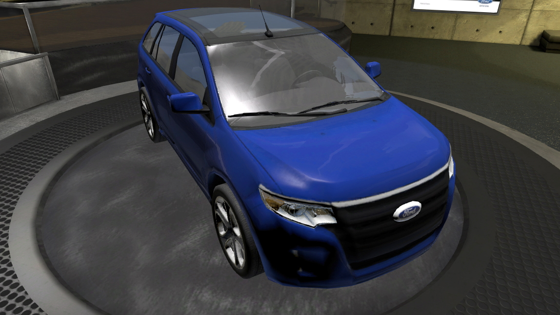 Ford's showroom on PlayStation Home. Image: Ford Motor Company