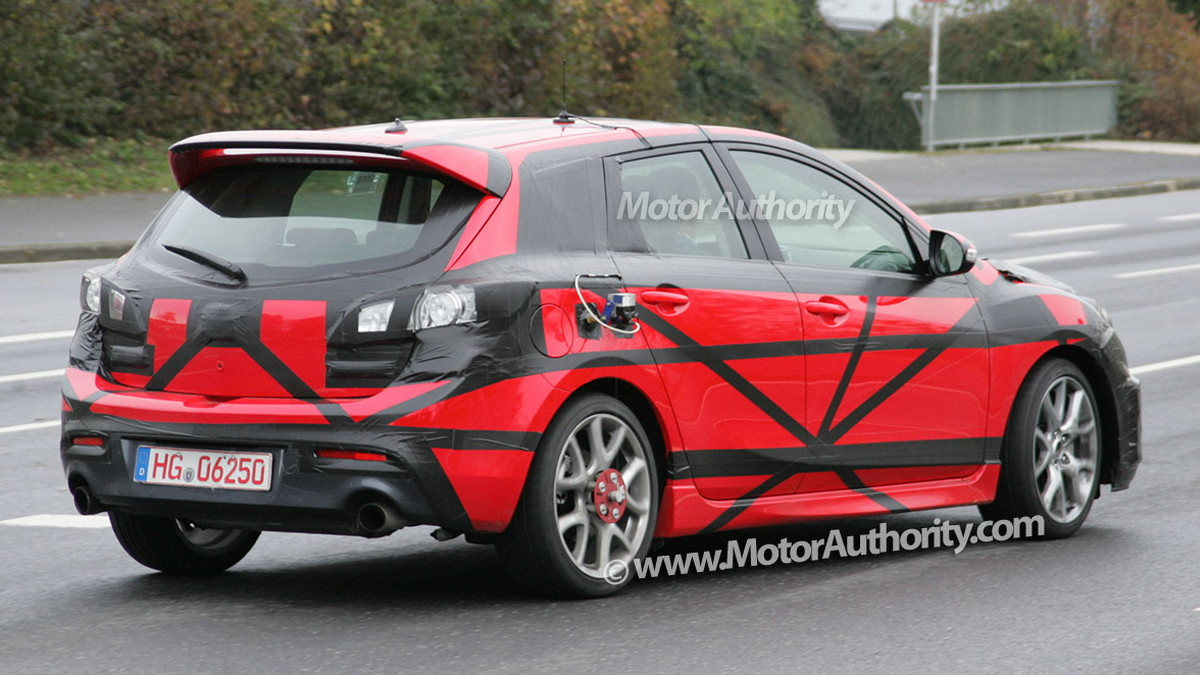 2010 mazda 3 mps spy shots oct 010