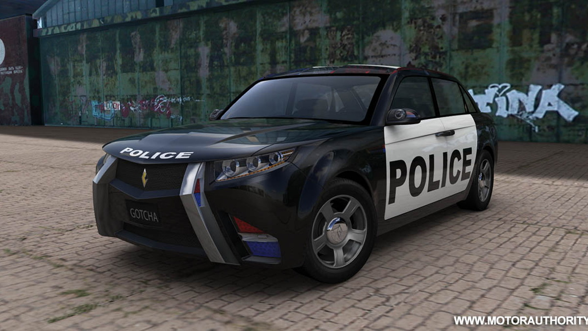 carbon motors e7 police car 002