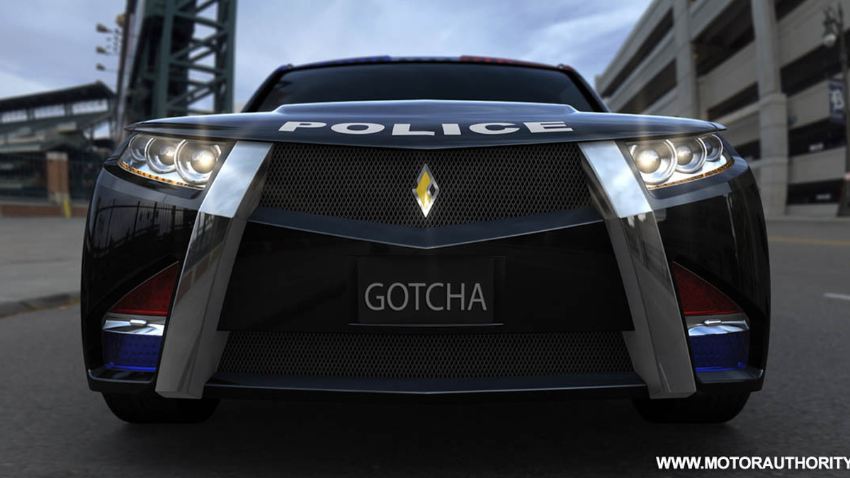 carbon motors e7 police car 006