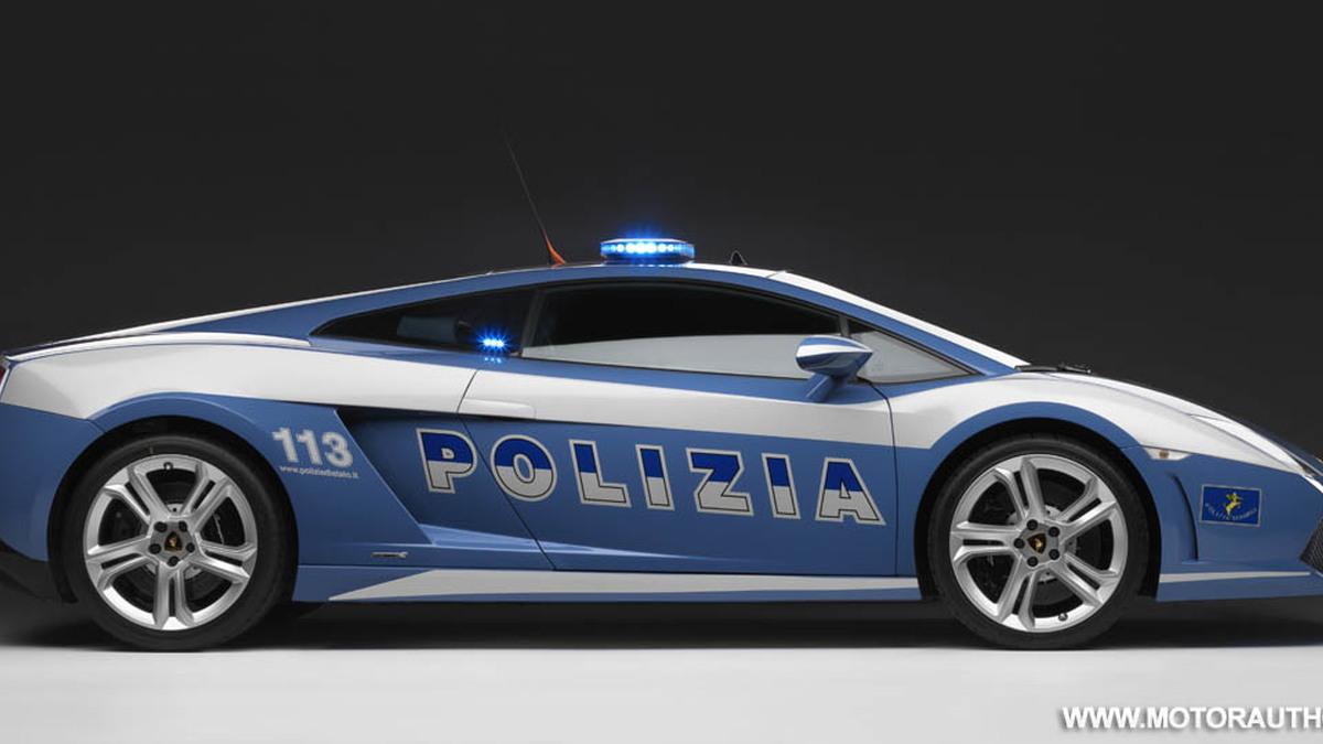 lamborghini gallardo lp560 4 polizia police car 011