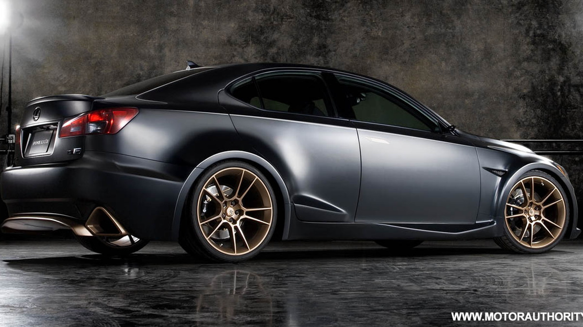 lexus previews modified is-f range planned for sema