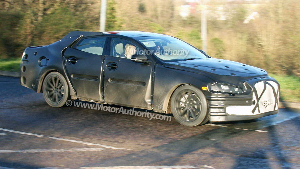 next gen jaguar xj spy shots 004