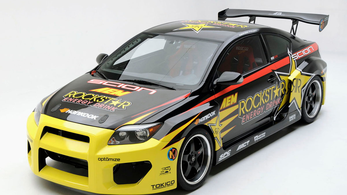 scion tc rockstart d1 drift car 006