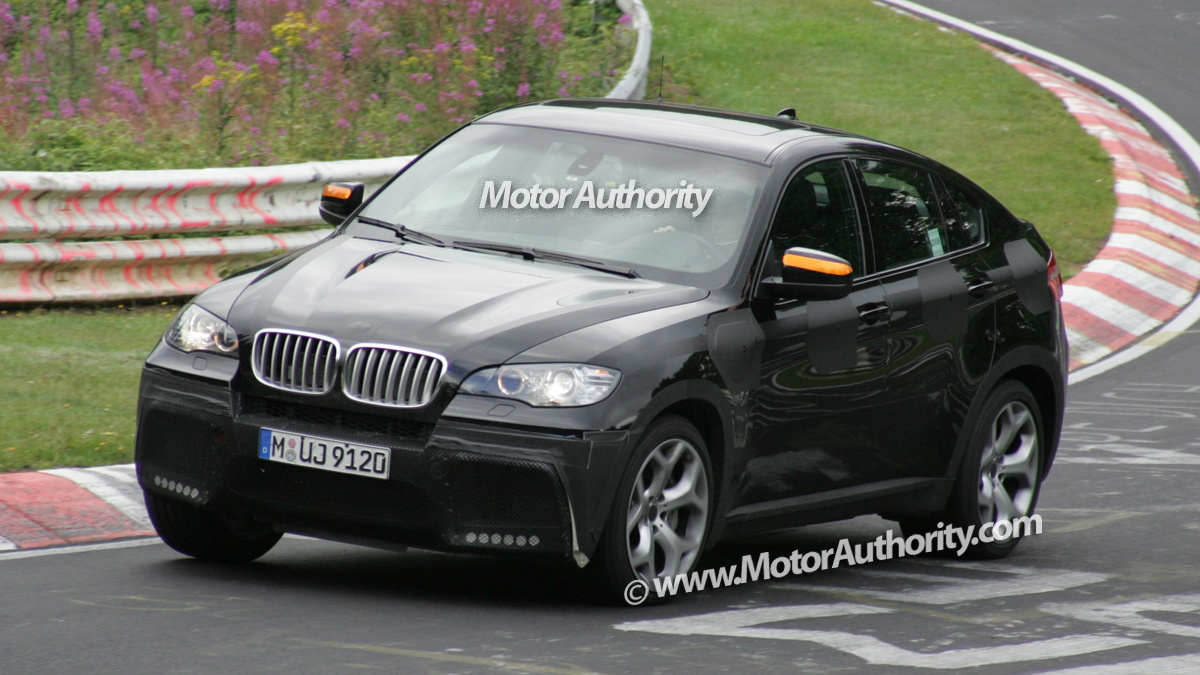 2008 bmw x6 tt spy shots nurburgring 002