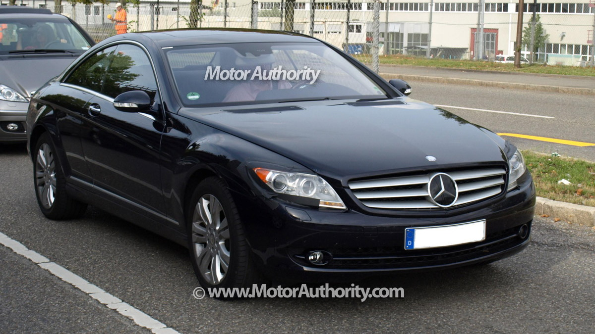 mercedes benz cl facelift motorauthority 002