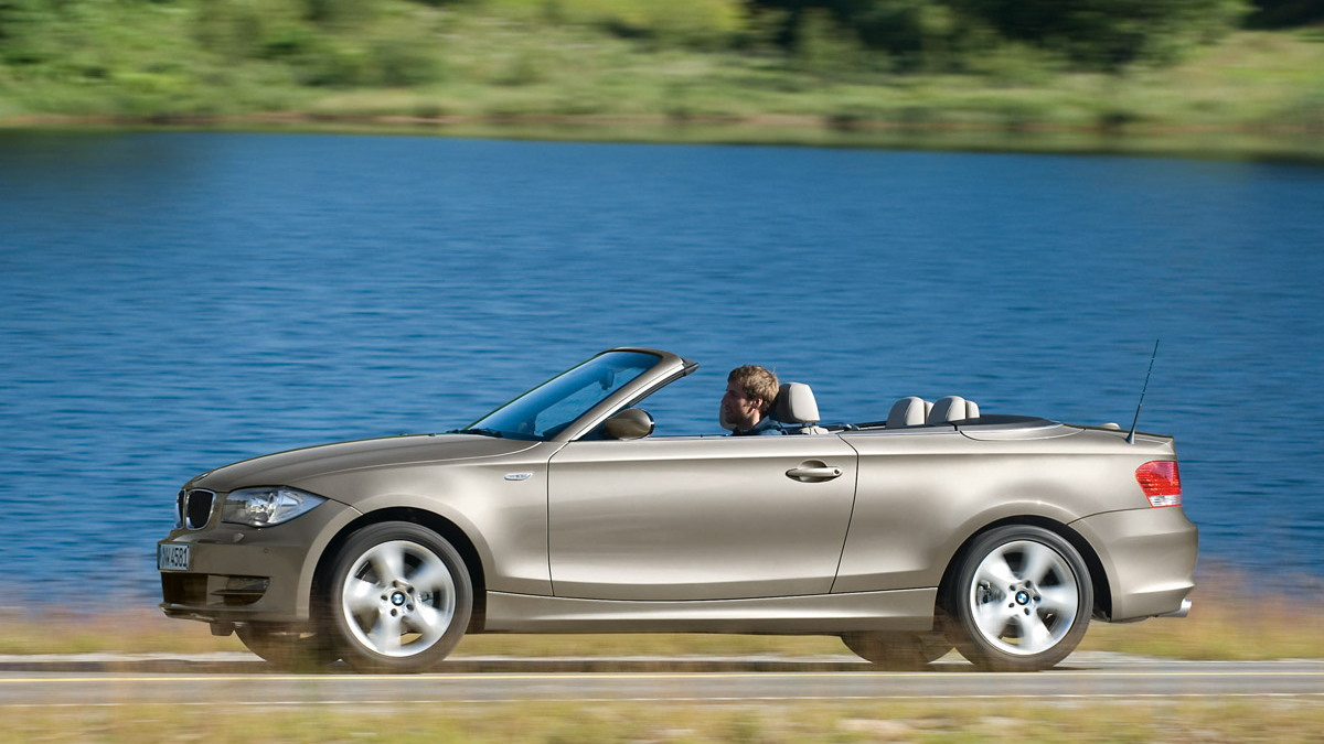 2008 bmw 1 series convertible motorauthority 005