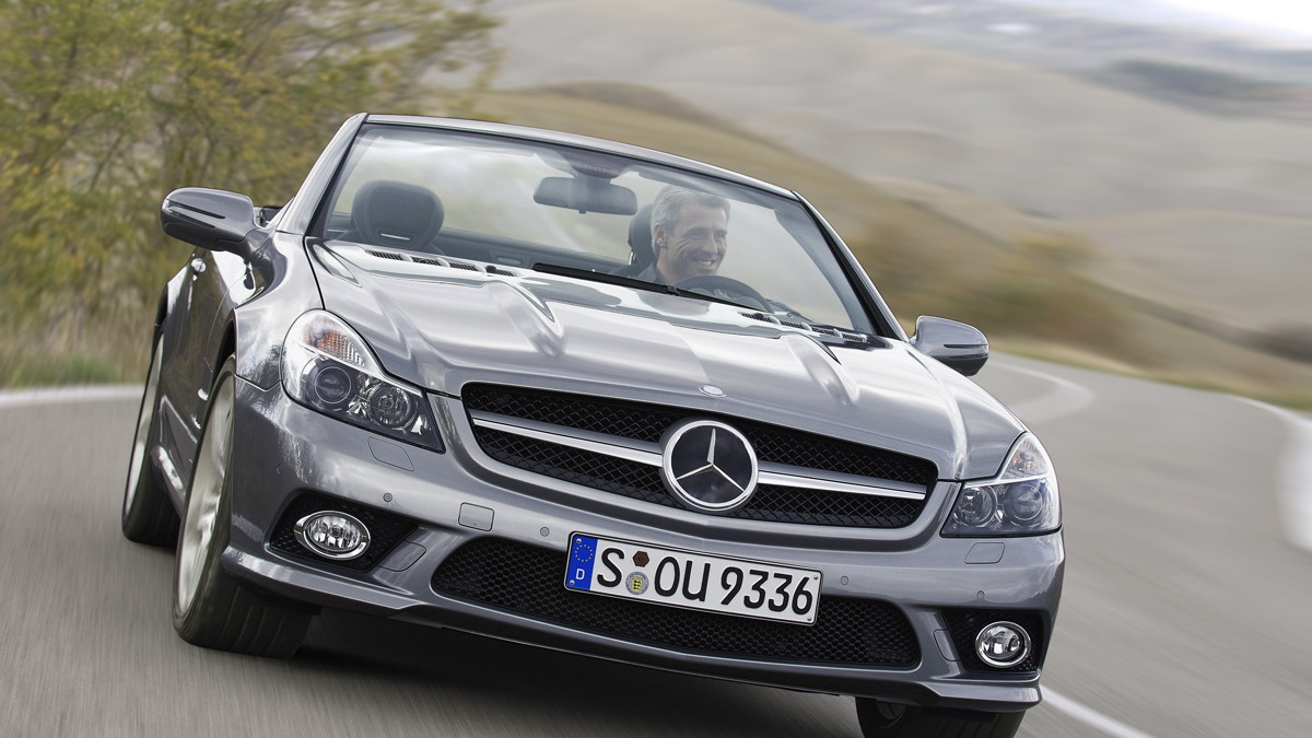 2009 mercedes sl facelift motorauthority 002