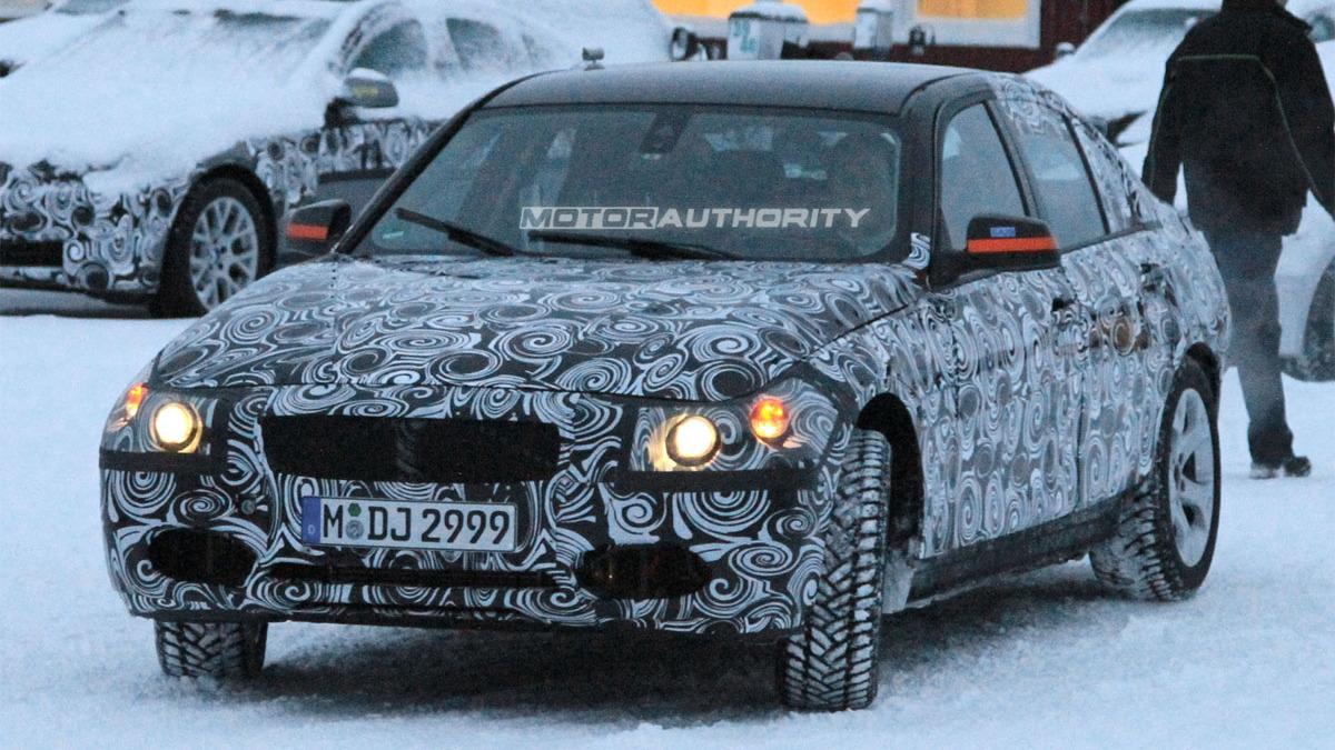 2012 BMW 3-Series spy shots
